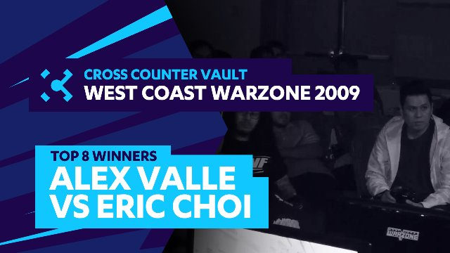 West Coast Warzone 2009: SF4 Top 8 Winners - Alex Valle (Ryu) vs. Eric Choi (Rufus)