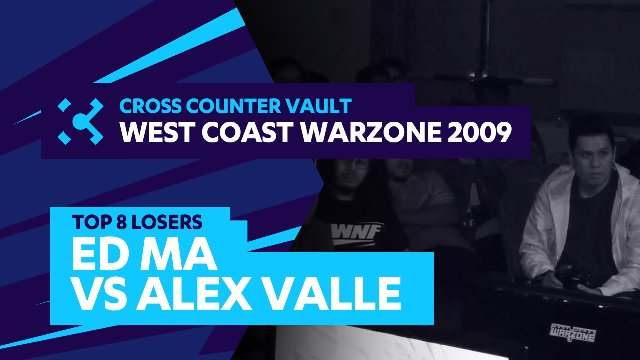 West Coast Warzone 2009: SF4 Top 8 Losers - Ed Ma (Akuma) vs. Alex Valle (Ryu)