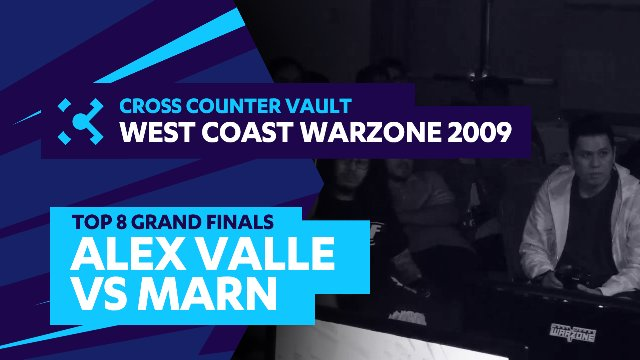 West Coast Warzone 2009: SF4 Top 8 Grand Finals - Marn (Rufus) vs. Alex Valle (Ryu)