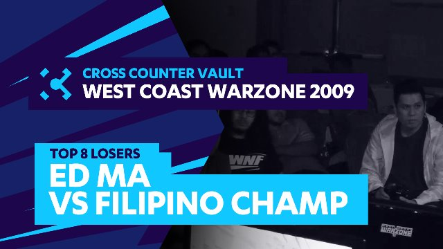 West Coast Warzone 2009: SF4 Top 8 Losers - Ed Ma (Akuma) vs. Filipino Champ (Dhalsim)