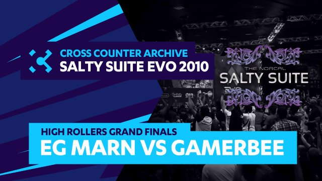 Salty Suite High Rollers - Grand Finals: EG Marn (C.Viper) vs. GamerBee (Adon)