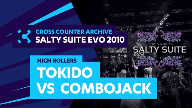 Salty Suite High Rollers - Tokido (Akuma) vs. Combojack (Sagat)