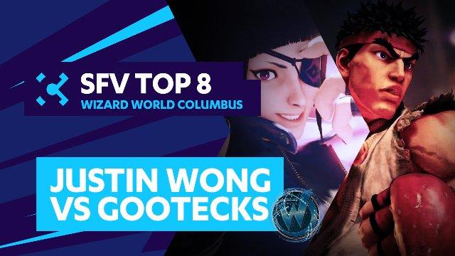 Justin Wong (Juri) vs. gootecks (Ryu) - Wizard World Columbus - 07/31/16 - Street Fighter V