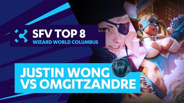 Justin Wong (Juri) vs. OMGitzAndre (R.Mika) - Wizard World Columbus - 07/31/16 - Street Fighter V