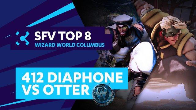 412 Diaphone (Rashid) vs. Otter (Nash) - Wizard World Columbus - 07/31/16 - Street Fighter V