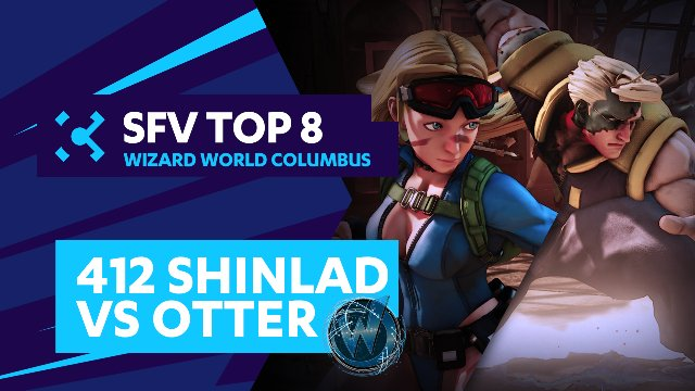 412 Shinlad (Cammy) vs. Otter (Nash) - Wizard World Columbus - 07/31/16 - Street Fighter V