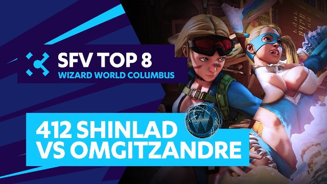 412 Shinlad (Cammy) vs. OMGitzAndre (R.Mika) - Wizard World Columbus - 07/31/16 - Street Fighter V