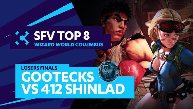 gootecks (Ryu) vs. 412 Shinlad (Cammy) - Wizard World Columbus - 07/31/16 - Street Fighter V