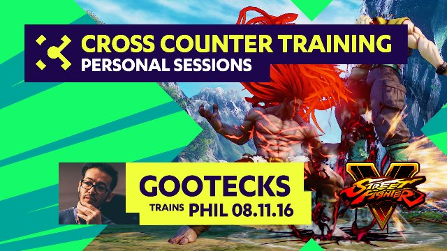 gootecks Trains Phil  - 08/11/16 - Cross Counter Personal Training Sessions