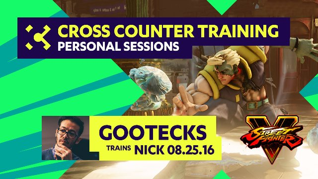 gootecks Trains Nick  - 08/25/16 - Cross Counter Personal Training Sessions