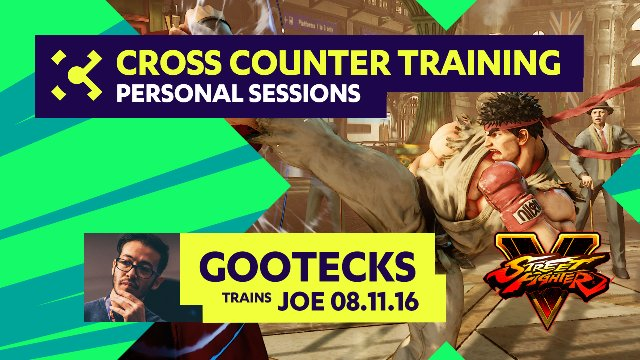 gootecks Trains Joe - 08/11/16 - Cross Counter Personal Training Sessions