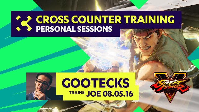 gootecks Trains Joe - 08/05/16 - Cross Counter Personal Training Sessions