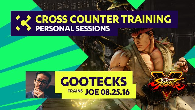 gootecks Trains Joe - 08/25/16 - Cross Counter Personal Training Sessions