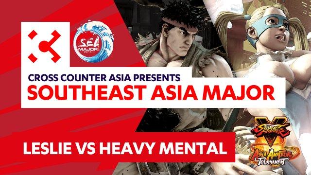 Leslie (Ryu) vs. Heavy Mental (R. Mika) - SEAM Asia Amateur Tournament