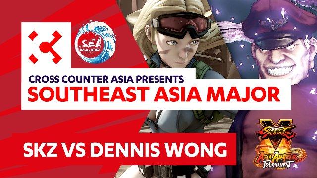 SKZ (Cammy) vs. Dennis Wong (M. Bison) - SEAM Asia Amateur Tournament