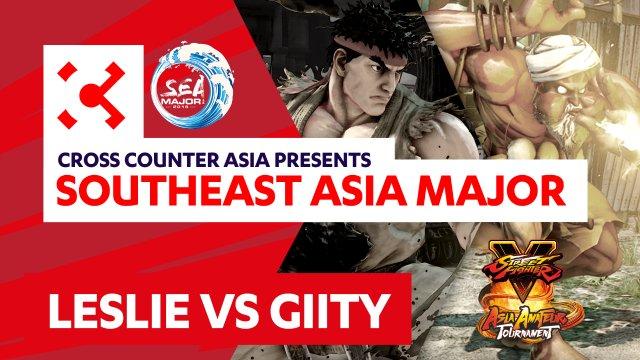 Gllty (Dhalsim) vs. Leslie (Ryu) - SEAM Asia Amateur Tournament