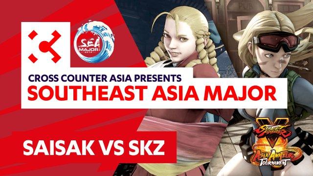 Saisak (Karin) vs. SKZ (Cammy) - SEAM Asia Amateur Tournament