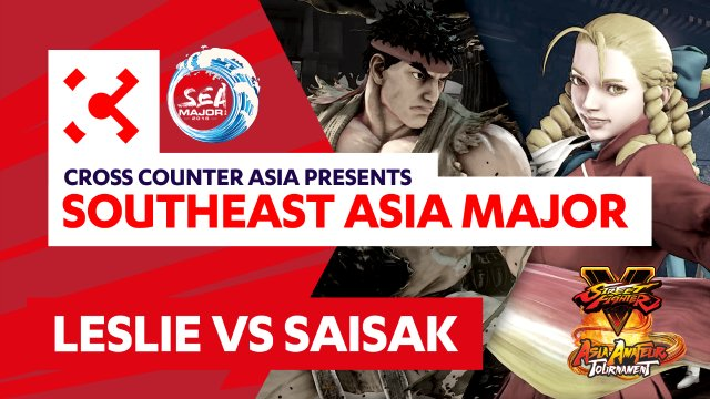 Leslie (Ryu) vs. Saisak (Karin) - SEAM Asia Amateur Tournament