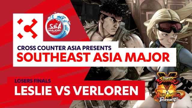 Leslie (Ryu) vs. Verloren (Cammy)  - Losers Finals - SEAM Asia Amateur Tournament