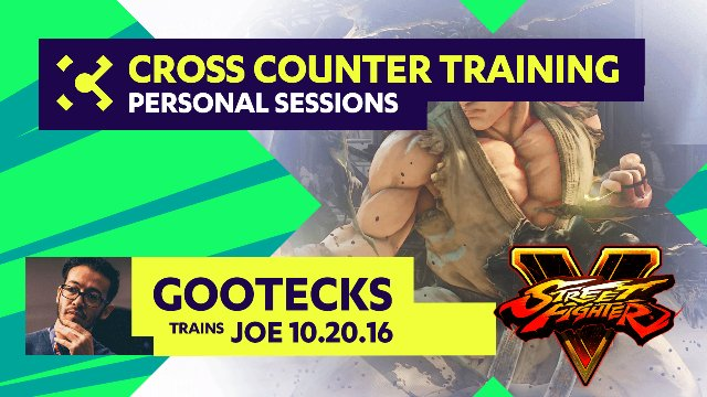 gootecks Trains Joe - 10/20/16 - Cross Counter Personal Training Sessions