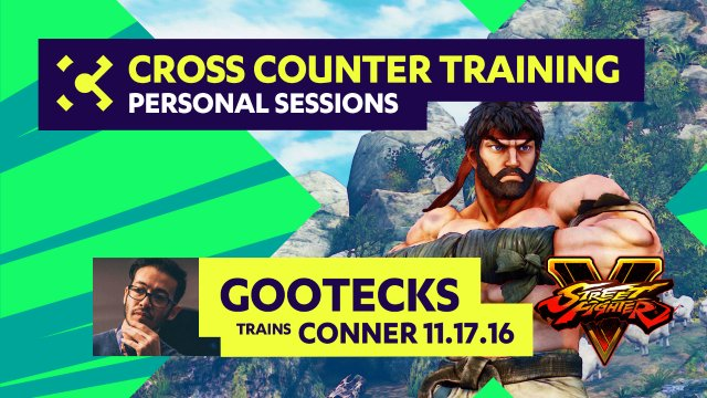 gootecks Trains Conner - 11/17/16 - Cross Counter Personal Training Sessions