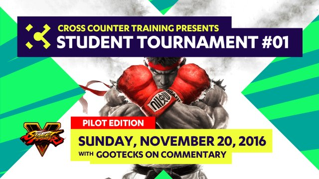 Cross Counter Training Student Tournament #01 - Pilot Edition with gootecks