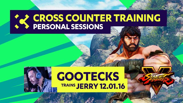 gootecks Trains Jerry Young - 12/01/16 - Cross Counter Personal Training Sessions