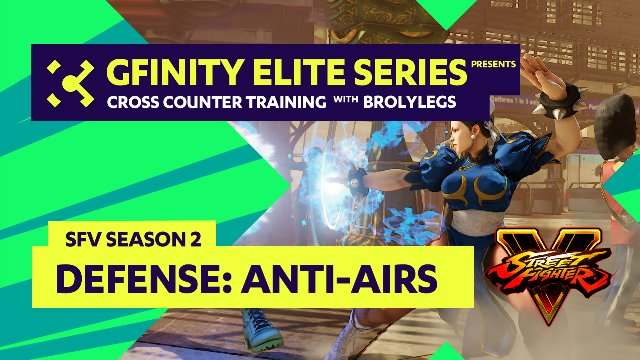 Defense with anti-Airs ft. Brolylegs - GFinity Training Series