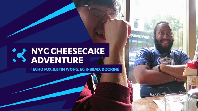 NYC Cheesecake Adventure ft. Echo Fox Justin Wong, EG K-Brad, & Zorine