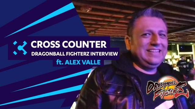 DragonBall FighterZ Interview at Super Saiyan Showdown Ft. Alex Valle