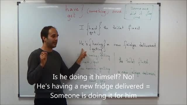 Easy Grammar   7   Causative   Have/Get Something Done