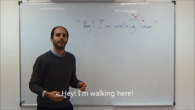 "Your Weekly English Workout | 56 | Lines from famous movies | ""Hey! I'm walking here!"""