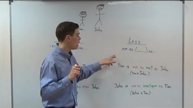 Easy Grammar   #10   Comparatives