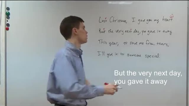 Your Weekly English Workout   65   Last Christmas