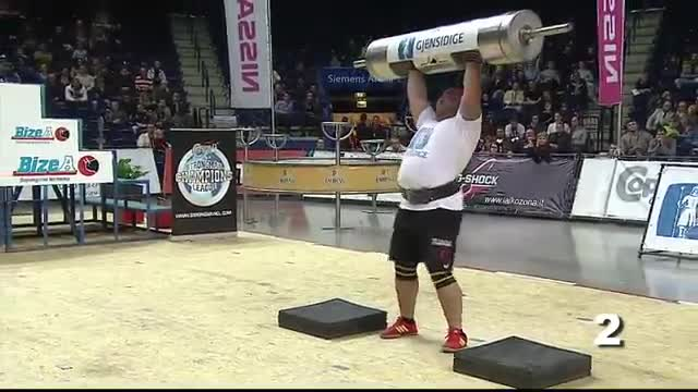 MHP Strongman Champions League  stage 12 - LITHUANIA  2012