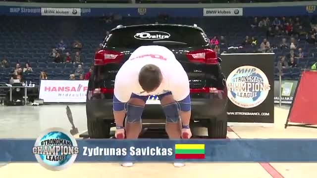 MHP Strongman Champions League stage 14 - Lithuania 2013