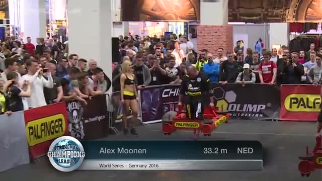 Stage 2 - MHP Strongman Champions League  Germany 2016 -  FULL Movie