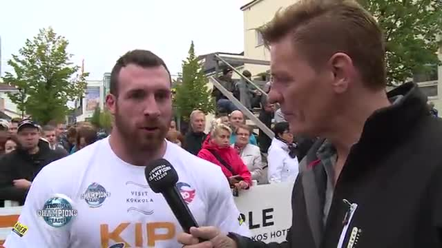 Frikkie and Kevin interview - SCL 105 Kg World's -  2016 - WEEK 40