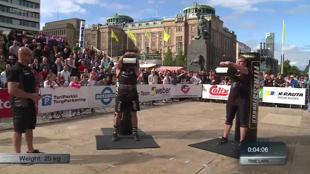 Stage 9 - MLO Strongman Champions League FINLAND 2016 - FULL MOVIE VAASA