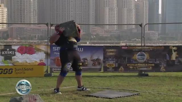 Eric Stone lift - SCL Dubai 2016 - WEEK 50