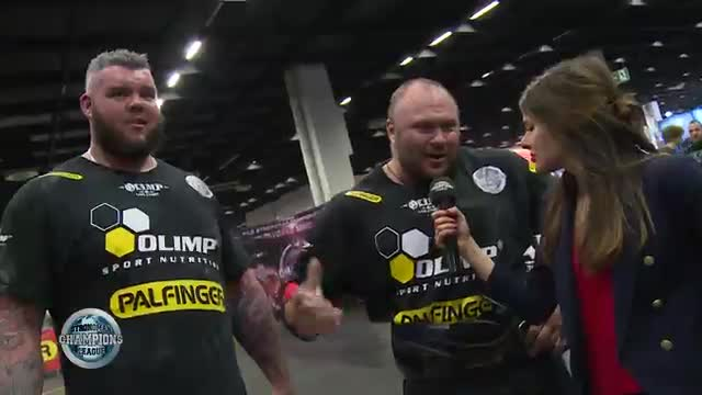 Dainis and Sean interview ladder push - SCL FIBO - WEEK 17