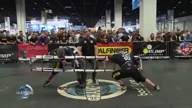 Dainis and Sean ladder push - SCL FIBO - WEEK 17