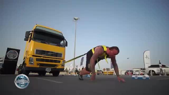 Kelvin truck pull - SCL ABU DHABI - WEEK 18