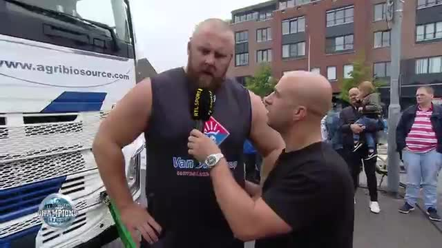 Luke Raynolds interview truck pull - SCL Holland - WEEK 25