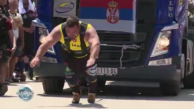 Matjaz Truck pull - SCL Serbia- WEEK 28