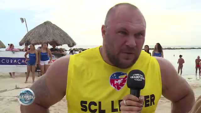 Dainis interview Rock lift - SCL CURACAO - WEEK 42