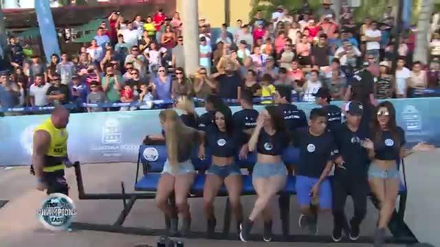 Dainis Human wheel - SCL Mexico - Week 3 - 2019