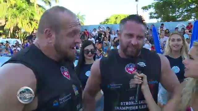 Will and Travis interview sack loading - SCL Mexico - Week 5 - 2019