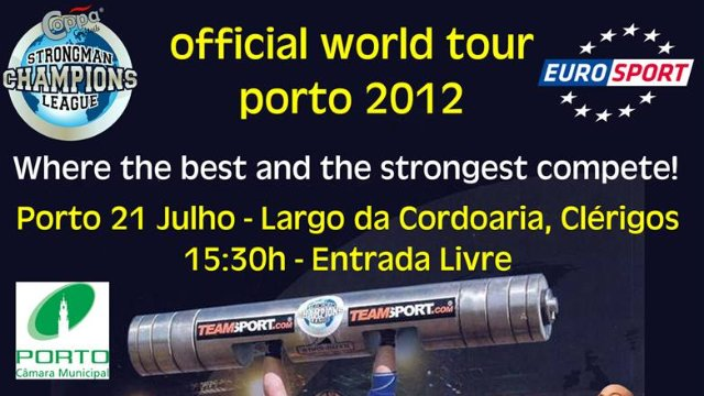5. MHP Strongman Champions League  stage 5 - PORTUGAL 2012