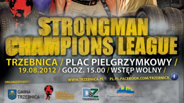 7. MHP Strongman Champions League  stage 7 - POLAND 2012